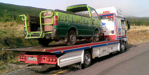 car breakdown and towing